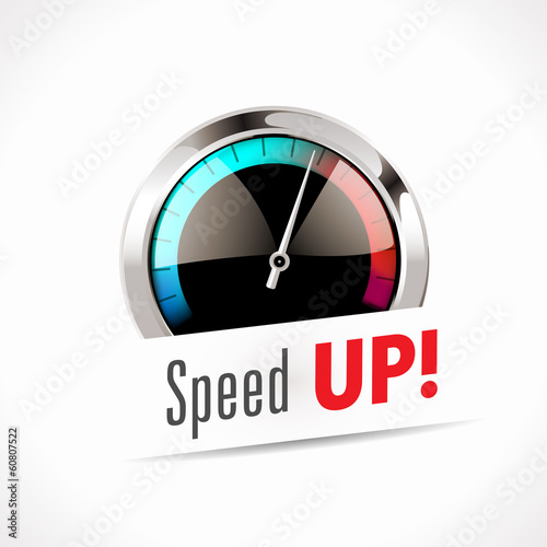 Speedometer - Speed up