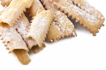 """Tipical italian cake """"Chiacchere"""" for carnival partty"""