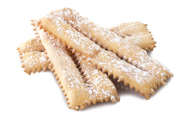"Tipical italian cake ""Chiacchere"" for carnival partty"