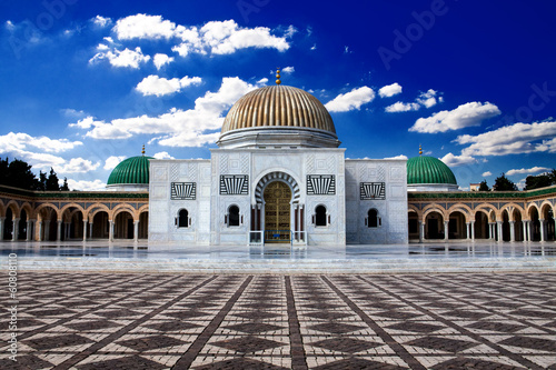 Poster Tunesië Bourguiba's Mausoleum