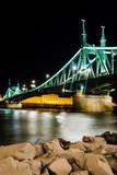 Szabadsag, Liberty Bridge in Budapest, Hungary - 60809336