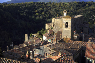 medieval italian town