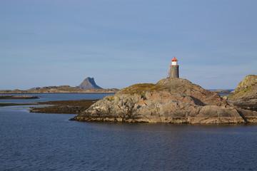 Lighthouse on norwegian coast