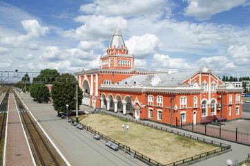 Railway station in Chernigov