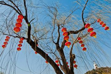 The Bai Ta stupa (White Pagoda or Dagoba), Beihai Park, Beijing