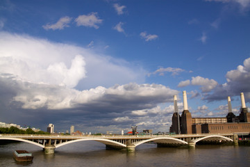 Battersea Bridge and Powerstation