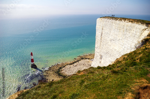 Cliff and lighthouse - 60811595