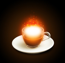 tazzina caffè magica