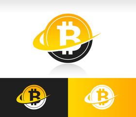 Swoosh Bitcoin Icon