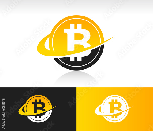 Swoosh Bitcoin Icon