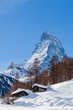 The Matterhorn in Switzerland