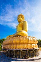 golden buddha. Thailand.