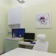 Healthcare clinic interior design