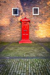 Dutch Red Mail Box