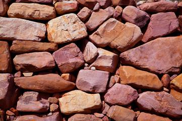 Masonry texture in Spain Mediterranean ancient wall