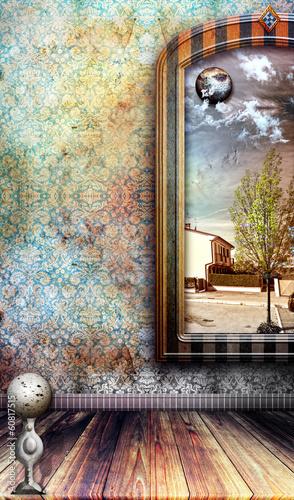 Staande foto Imagination Melancholy and memories