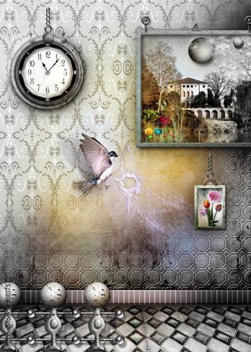 Staande foto Imagination Saudade series