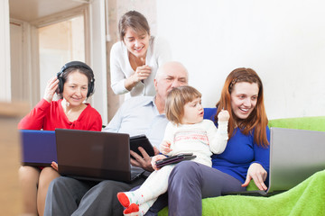 people  uses few various  devices at home