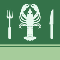 Lobster, Fork and Knife icon