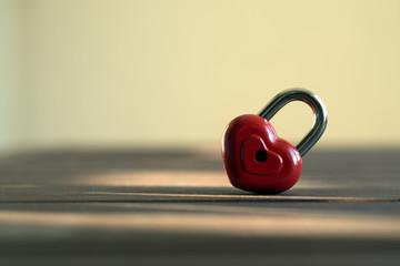 сердце в виде замка