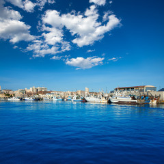 Santa Pola port marina in Alicante Spain