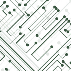 Circuit board background, technology style illustration