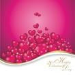 Hintergrund in pink zum valentinstag