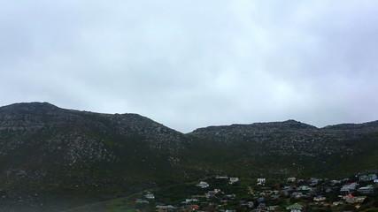 Majestic mountain range