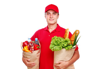 Food delivery courier