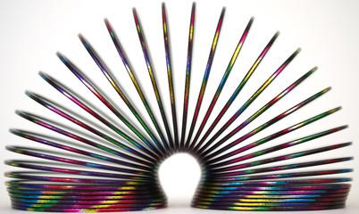 Metal Spiral Closeup