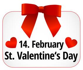 14. February Saint Valentine's Day