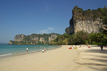 Railay beach, Krabi province, Thailand