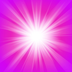 Pink and purple abstract magic light background