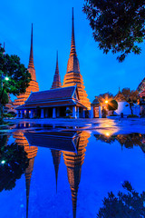 Wat Pho in Bangkok of Thailand
