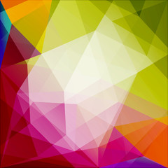 Abstract geometric triangles background