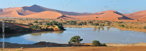 Deadvlei and  Sossusvlei panorama 3
