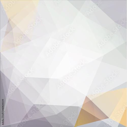 Fototapeta Abstract geometric triangles background