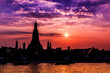 Wat Arun in Bangkok of Thailand