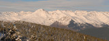 Pyrenees from Port-Aine Ski Pallars