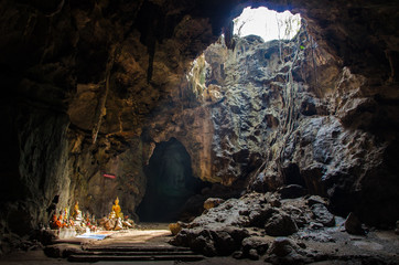 Tham Khao Luang Cave in Phetchaburi, Thailand