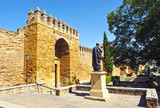 Seneca, Almodovar gate, ramparts of Cordoba, Spain
