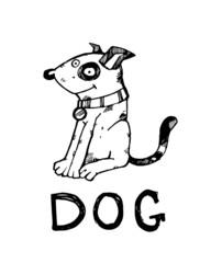 Ink dog