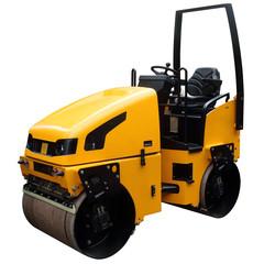 Modern yellow truck