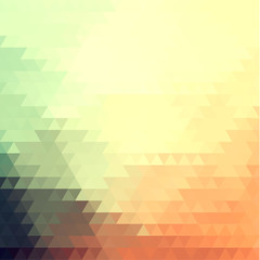 Abstract triangular pattern