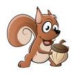 eichhörnchen lustig cartoon