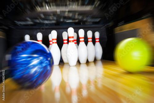 Fototapeta bowling