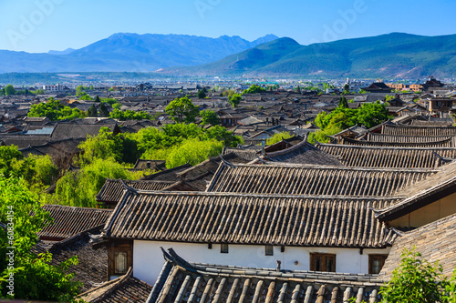 Lijiang old town, China