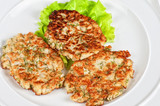 cauliflower cutlets with apples