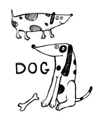 Ink dogs