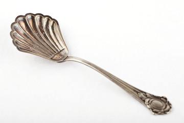 Zuckerlöffel Silber antik